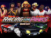 Онлайн слот Racing For Pinks