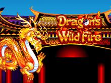 Онлайн слот Бушующее Пламя Дракона